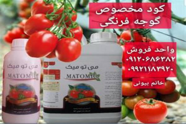فروش کود مخصوص گوجه فرنگی در کرمان