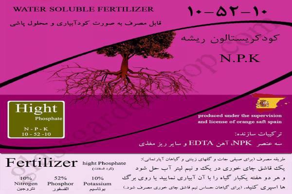 فروش کود NPK فسفات بالا -ریشه زایی-تهران