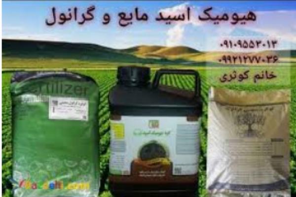 فروش کود هیومیک اسید مایع و گرانول _اصفهان